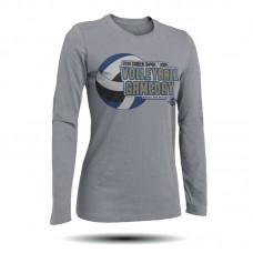 Volleyball Gameday Long Sleeve Shirt (Ash)