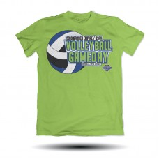 Volleyball Gameday Tee Shirt (Lime)