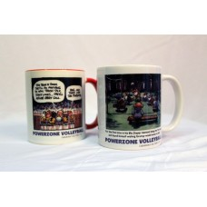 PowerZone Volleyball Cartoon Mug 11 oz