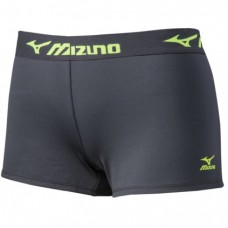 Mizuno MRB Practice Short (Charcoal/Lemon)
