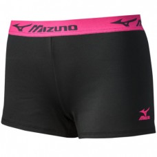 Mizuno MRB Practice Short (Black/Shocking Pink)